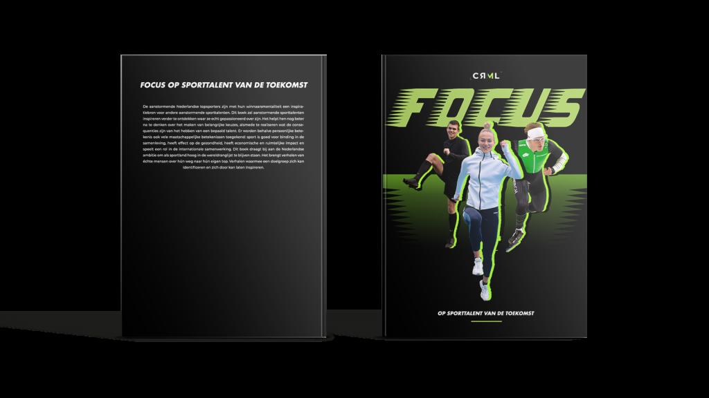 Voor- en achterkant van Focus boek door Carmel Boon